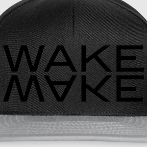 wake make Tröjor - Snapbackkeps