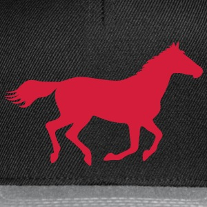 Horse Pony Riding Rider Men's T-Shirts - Snapback Cap