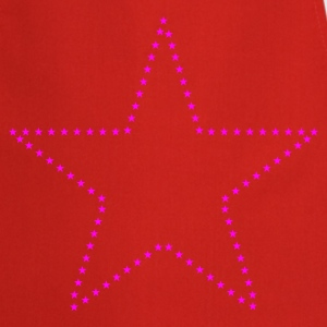 Star figure pattern T-Shirts - Cooking Apron