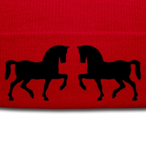Horse Pony Riding Rider Women's T-Shirts - Winter Hat