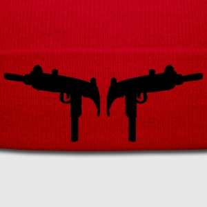 Uzi machinepistool pistool revolver T-shirts - Wintermuts