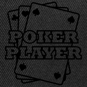 Poker Player T-shirts - Casquette snapback
