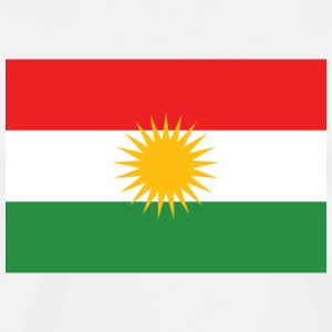 Official Flag of Kurdistan Autonomous Region - Men's Premium T-Shirt