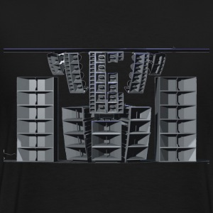 sound system Hoodies & Sweatshirts - Men's Premium T-Shirt