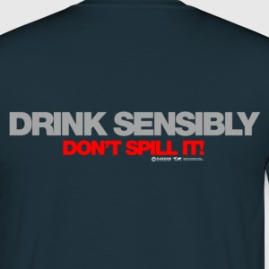 Drink Sensibly Hoodies & Sweatshirts - Men's T-Shirt