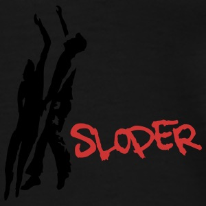 Sloper-Power - Männer Premium T-Shirt