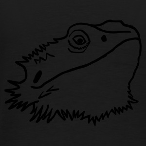 Sammy, the bearded dragon - Men's Premium T-Shirt