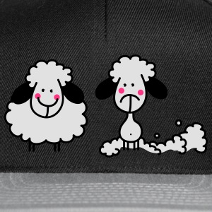 The shorn sheep Umbrellas - Snapback Cap