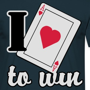 Love to win - T-shirt Homme