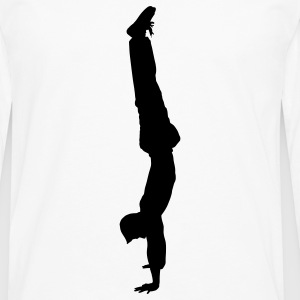 handstand gymnast sport T-shirts - T-shirt manches longues Premium Homme