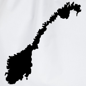 norway map T-shirts - Gymnastikpåse