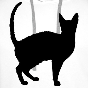 cat T-shirts - Sweat-shirt à capuche Premium pour hommes