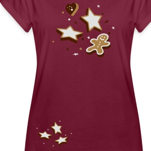 Christmas Cookies  Aprons - Women's Oversize T-Shirt