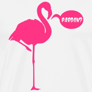 FLAMINGO PARDON Bags  - Men's Premium T-Shirt