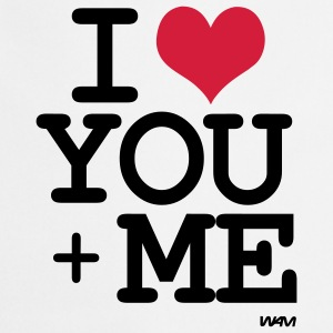 i love you plus me by wam Camisetas - Delantal de cocina