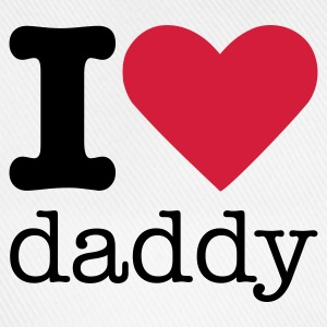 I Love Daddy Baby body - Baseballcap