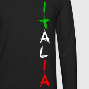 italia T-shirts - T-shirt manches longues Premium Homme