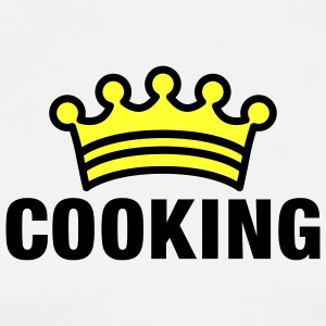 CooKing | Cook King Schürzen - T-shirt Premium Homme
