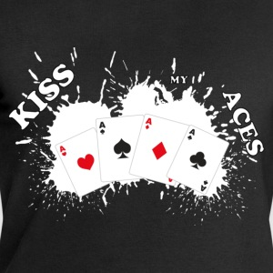 Kiss my aces - Sweat-shirt Homme Stanley & Stella