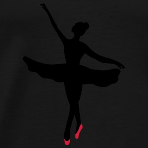 Ballet dancer Kids' Tops - Men's Premium T-Shirt