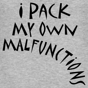I Pack My Own Malfunctions - Men's Slim Fit T-Shirt
