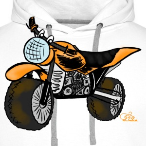 Mopped T-Shirts - Männer Premium Hoodie