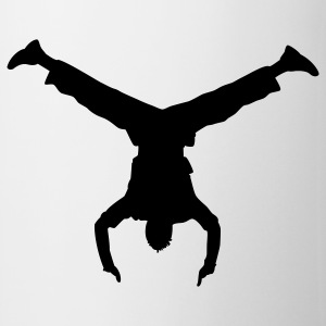 handstand breakdance T-shirts - Tasse