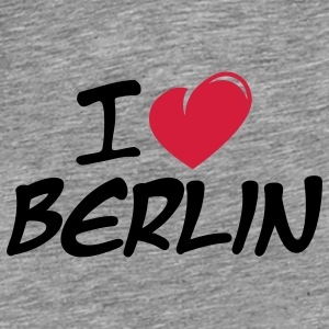 I love Berlin / Ich liebe Berlin Accessories - Men's Premium T-Shirt