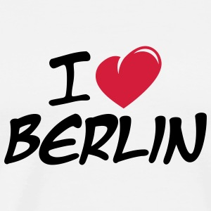 I love Berlin / Ich liebe Berlin T-shirts manches longues - T-shirt Premium Homme