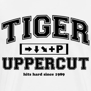 Tiger Uppercut University Langarmshirts - Männer Premium T-Shirt