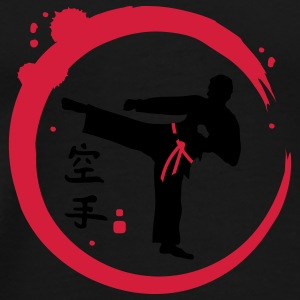 Karate calligraphy Umbrellas - Men's Premium T-Shirt