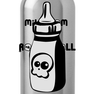 Milk, Mom and Rock'n'Roll - Water Bottle