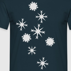 Flocon de neige Sweatshirts - T-shirt Homme