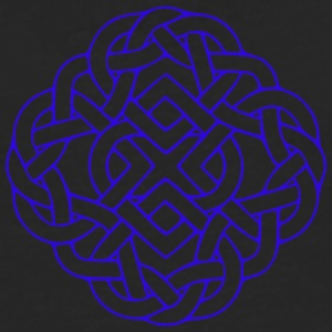 6 Heart knot blue T-Shirts - Men's Premium Longsleeve Shirt