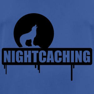 nightcaching / 1 color Tröjor - Andningsaktiv T-shirt herr