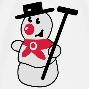 snowman Accessories - Men's Premium T-Shirt