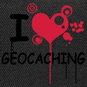 I love geocaching / 2 colors Sweaters - Snapback cap
