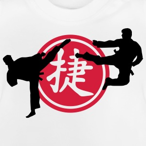 chinese_sign_victory_karate_a_2c Skjorter - Baby-T-skjorte