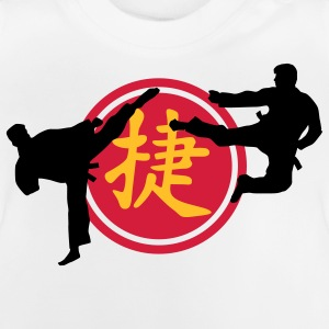 chinese_sign_victory_karate_a_3c Skjorter - Baby-T-skjorte