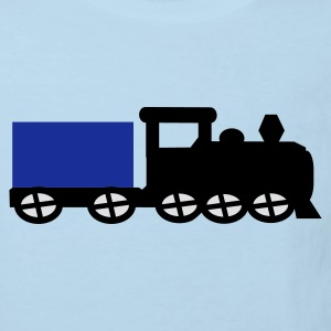 train Babybody - Ekologisk T-shirt barn