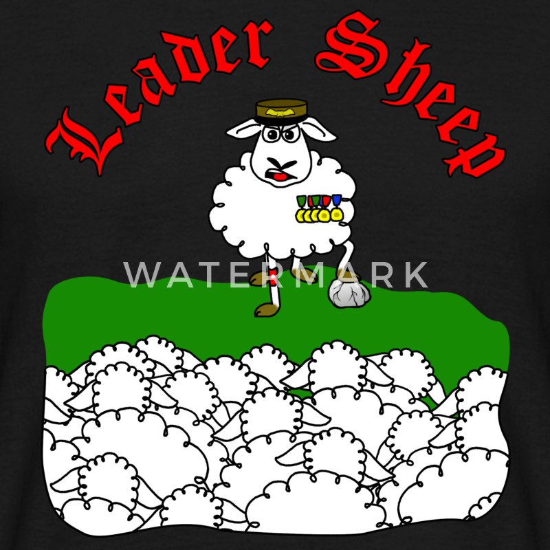 leader sheep T-shirts - T-shirt Homme
