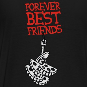 Forever Best Friends - Männer Premium T-Shirt