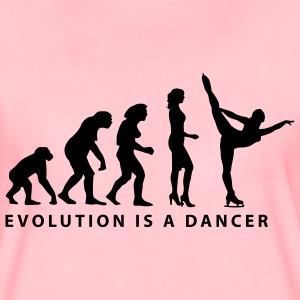 evolution_eiskunst_d_1c Sweat-shirts - T-shirt Premium Femme