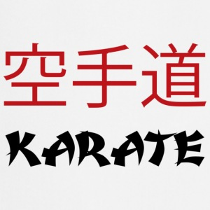 Karate - Tablier de cuisine