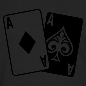 Poker Cards T-Shirts - Men's Premium Longsleeve Shirt