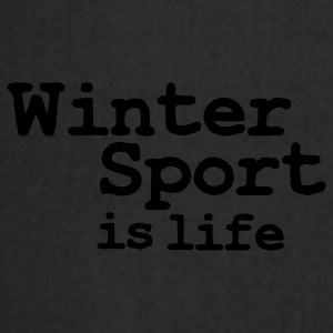 winter sport is life Petten & Mutsen - Keukenschort