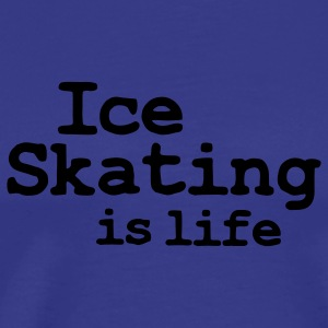 ice skating is life Barntröjor - Premium-T-shirt herr