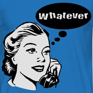 Whatever Pullover - Männer T-Shirt