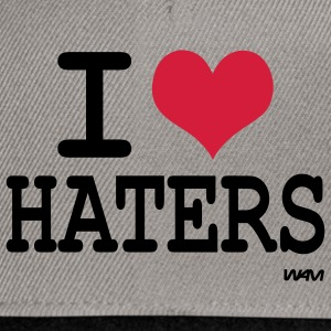 i love haters Gensere - Snapback-caps