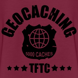 geocaching - 5000 caches - TFTC / 1 color Pikétröjor - Oversize-T-shirt dam